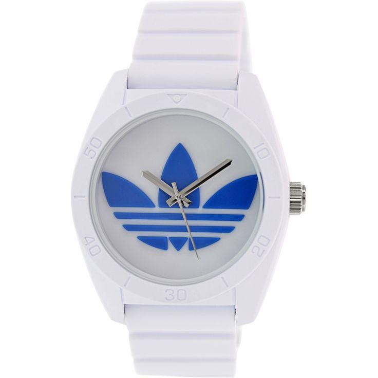 Adidas Men's Santiago Silicone Quartz Watch