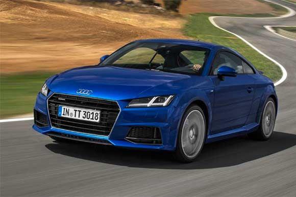 Na Europa, Audi TT ganha motor diesel e tração integral