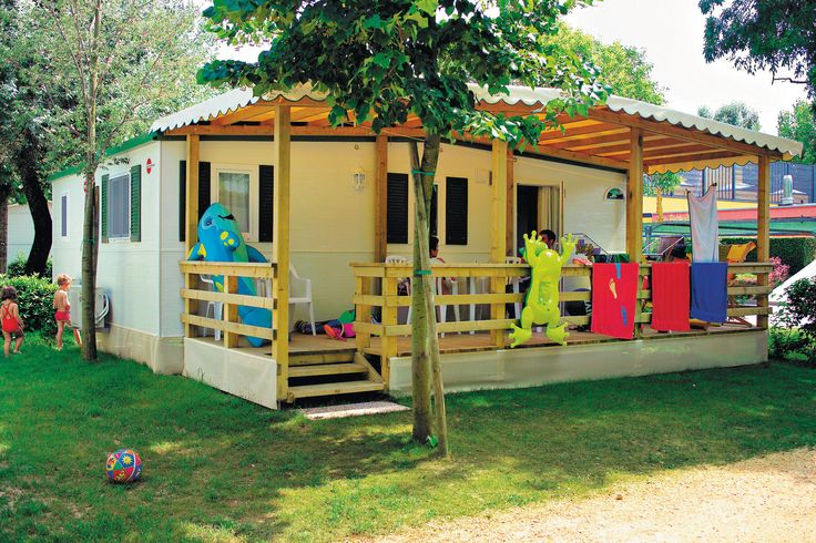 Maxi Caravan e Silver Caravan con veranda in legno