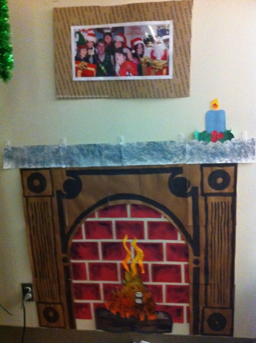 Cute for unit Xmas. Since we can't get the Yule log on demand.