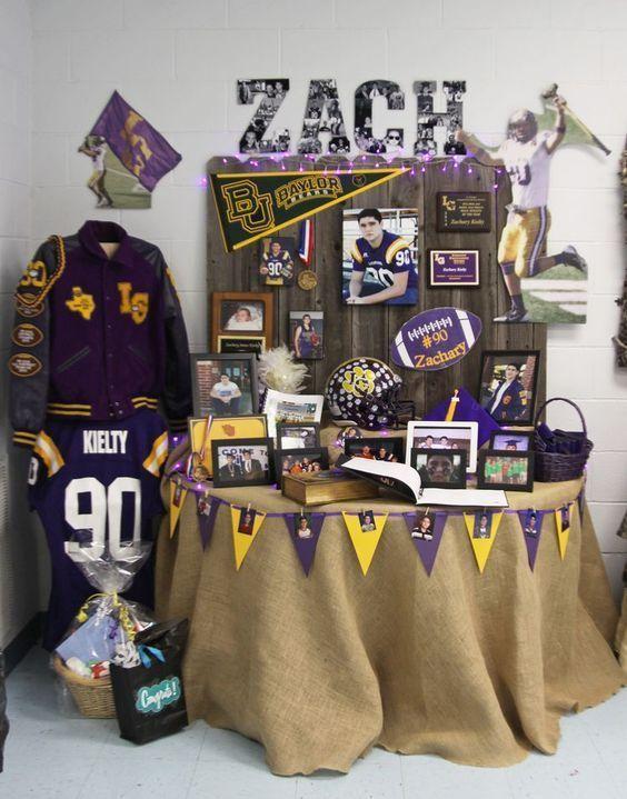 Yellow Purple Diy Graduation Party Ideas For High School Diy