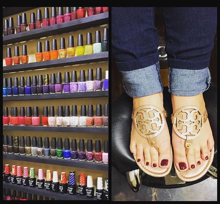 Don't forget we do manis and pedis!