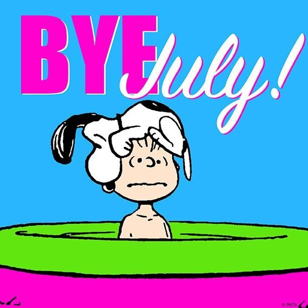 Goodbye July! (August 23, 1963)