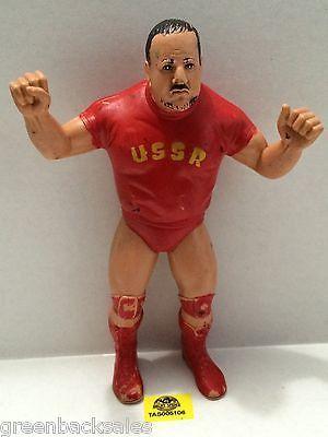 "(TAS005106) - WWE WWF WCW nWo Wrestling LJN 8"" Action Figure - Nikolai Volkoff"