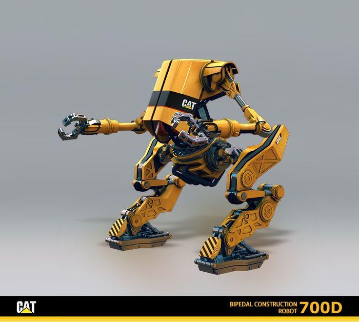 CAT Robot, Max Kozhevnikov on ArtStation at http://www.artstation.com/artwork/cat-robot