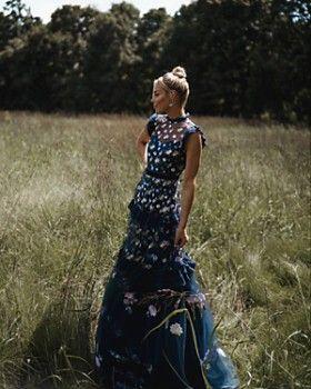 86354beb87a2 AQUA - Happily Grey x AQUA Embroidered Maxi Dress - 100% Exclusive ...