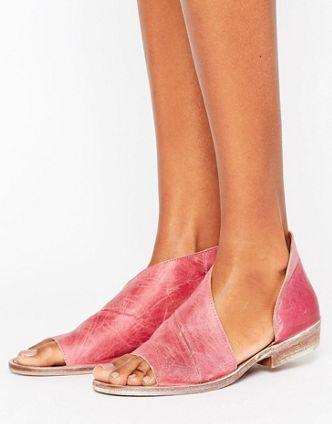 Sandales plates | Spartiates, sandales en cuir et sandales dorées | ASOS