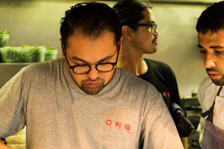 Jowett Yu of Hong Kong's Ho Lee Fook as Guest Chef at Lyle's Restaurant in London