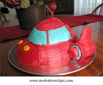 Little Einsteins Birthday Cake