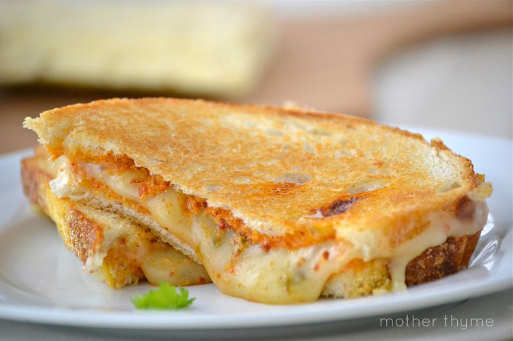 Chiptole Pesto Grilled Cheese