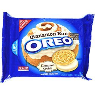 Oreo Cinnamon Bun Sandwich Cookies (12.2-Ounce Package)