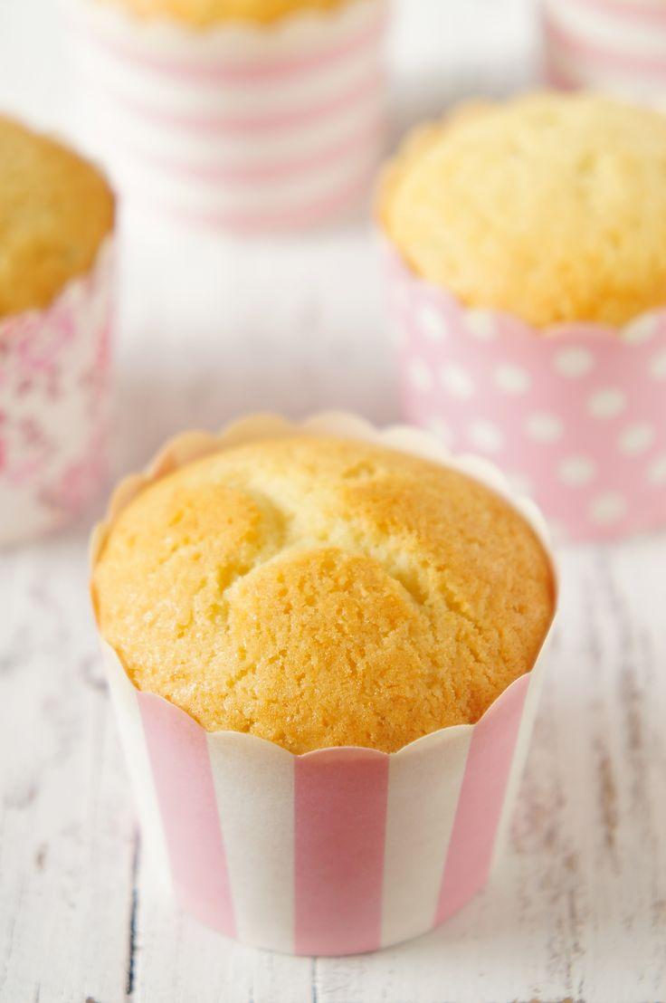 Massa para cupcake ou bolo de baunilha | Vídeos e Receitas de Sobremesas