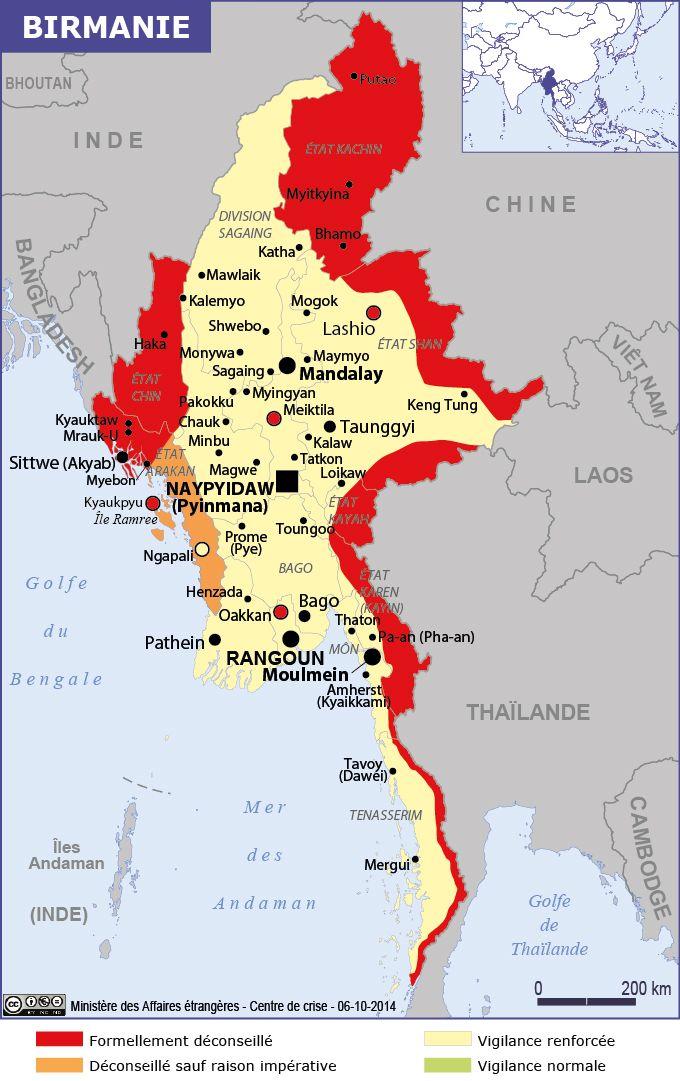 Carte Politique Birmanie.Voyage Birmanie Histoire Info Carte Et Actualite