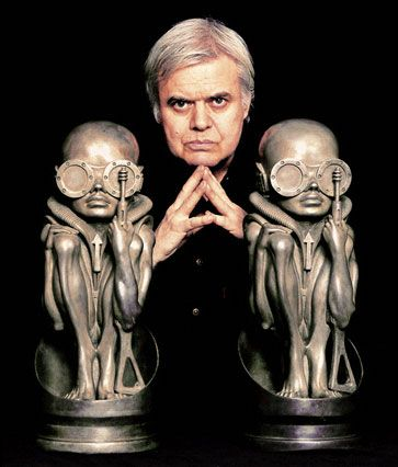 """H.R. Giger - the man responsible for the """"Alien"""" design, and other dark and fascinating art"""
