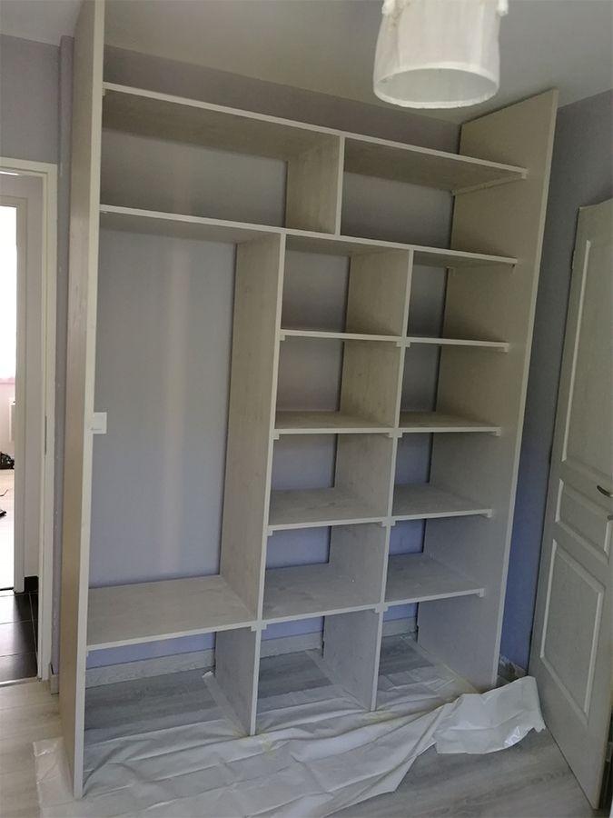 fabrication armoire dressing avec les