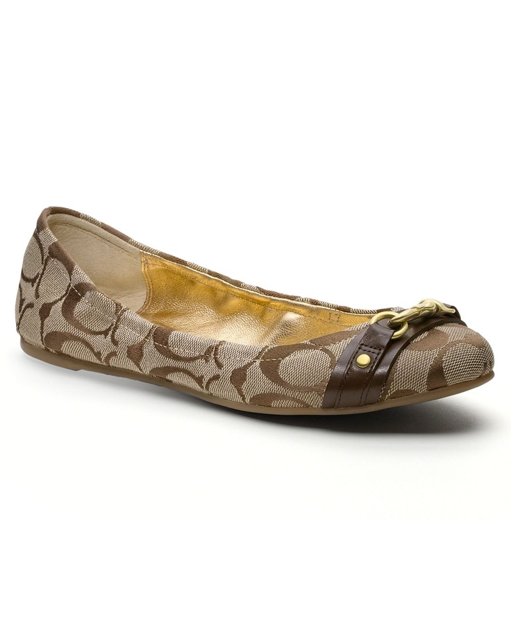 coach flat shoes for - 28 images