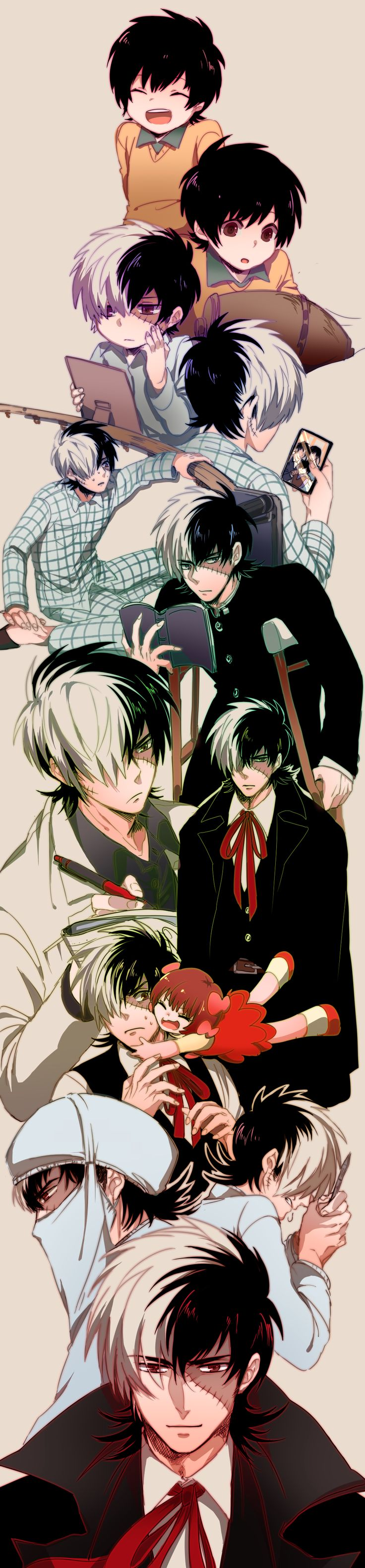 Black Jack #Anime #Manga Black Jack