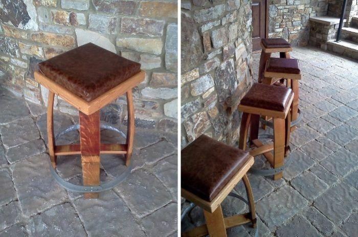 Τι έπιπλα μπορείτε να κατασκευάσετε από παλιά βαρέλια κρασιού και πολύ φαντασία?.  #DIY