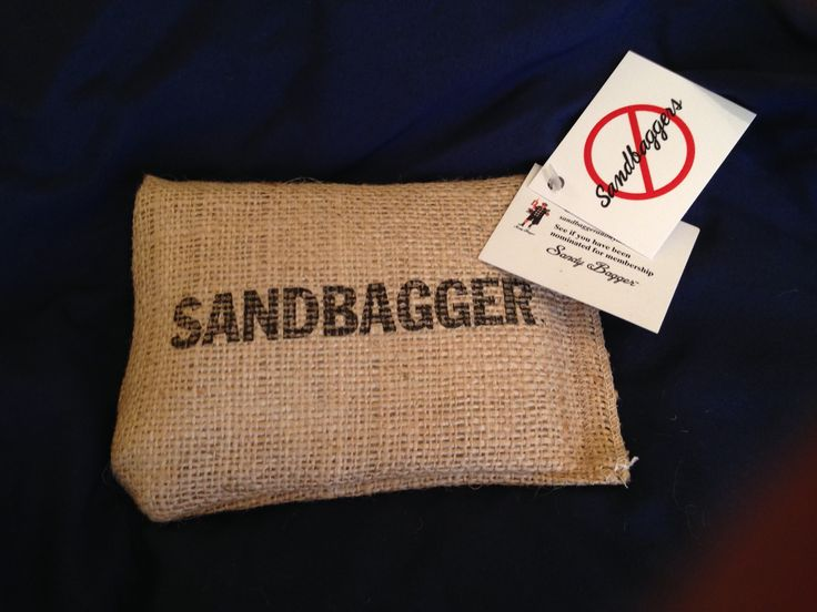 $7.99/$9.99 Send our Sandbag anonymously or place it in their golf bag- go to Sandbaggeranonymous.com