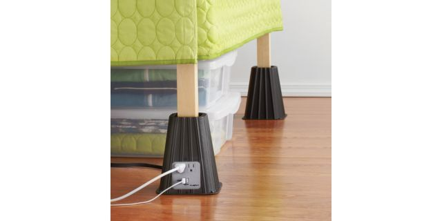 Plug in bed raisers