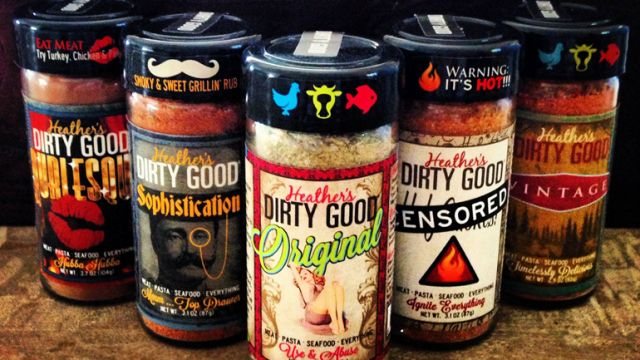 Heather's Dirty Goodness, Inc. - creator of a low salt, high impact seasoning line. Featured at #LowertownPop2018 on Sat, March 24 at @UnionDepot. Stop by from 10-4.  #spices #spicerub #lowsalt #seasonings #meatrubs #highimpact #dirty