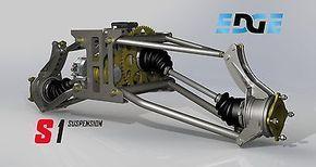 S1 Rear suspension plans, bike powered mini dune buggy, sandrail on CD disc.