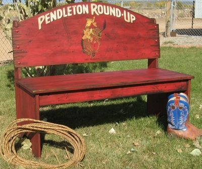 Pendleton Round Up Bench Things I want