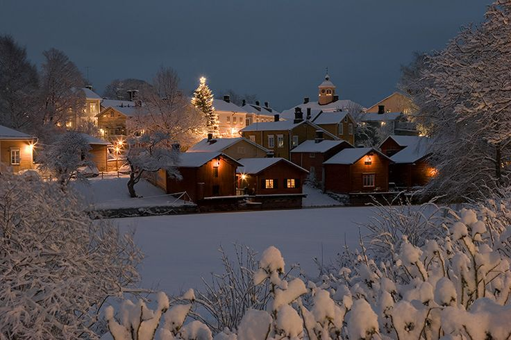 Porvoo in winter