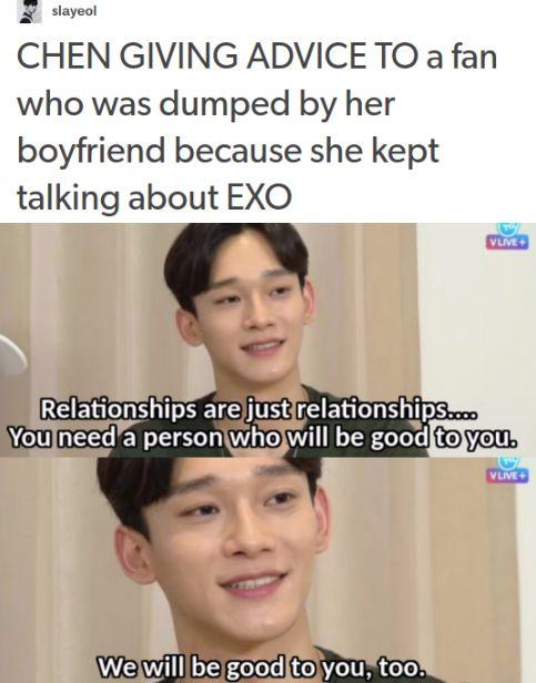 I know you'll be good to me, Chen!!! I'd be good to you, too!!!! *cries*