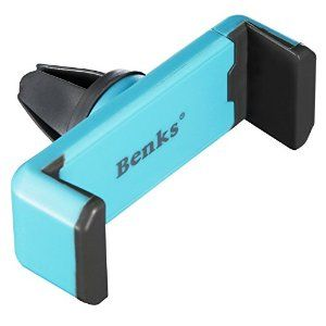 Benks Car Mount Holder,  Smartphone Car Holder for Iphone 6 (4.7)/ Plus (5.5)/ 5s/ 5c/, Samsung Galaxy S6/s6 Edge/ S5/s4/ S3/ Note 4/3, Google Nexus 5/4, Lg G4 (Blue)