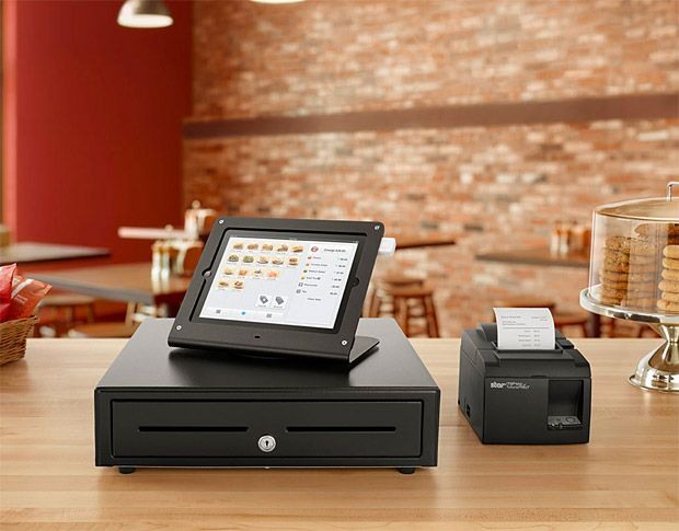 "As the use of iPad as a service and point-of-sale device continues to grow, the e-commerce experts at Square are offering a ""business in a box"" package that allows you to set up a checkout counter that's considerably more official than simply swiping cards through your phone or tablet. The kit includes a Square Reader, an iPad stand, a cash drawer, & receipt printer."