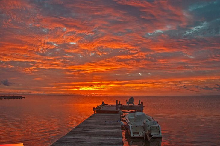 Most Beautiful Pictures of Sunrise | Most beautiful sunrise picture ever, Ambergris Caye, Belize ...