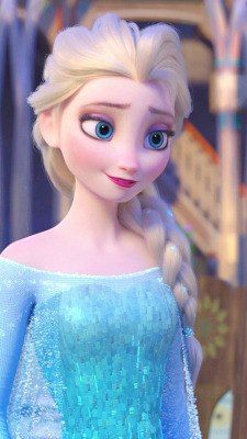 Queen Elsa - Frozen ❄️ She's so cute                                                                                                                                                     More