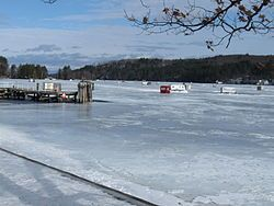 Alton Bay is an unincorporated community in the town of Alton, New Hampshire, United States, located on Alton Bay, a 4-mile-long (6 km) cove of Lake Winnipesaukee which forms the southernmost point on the lake. The village is part of the Lakes Region, a popular resort area of New Hampshire.