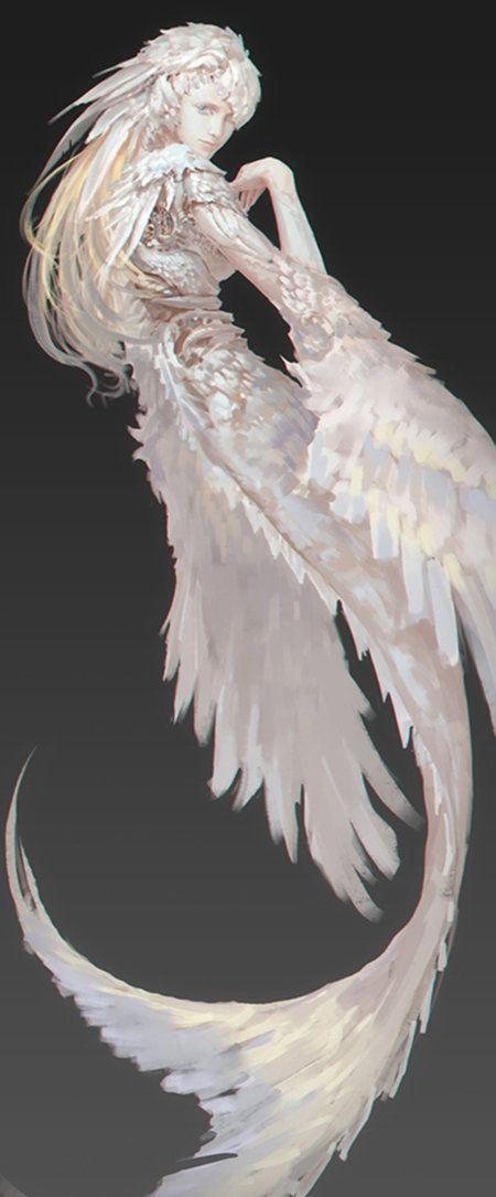 feather, LIGHT GYZJ on ArtStation at…
