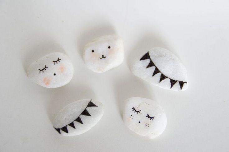 so cute stone DIY
