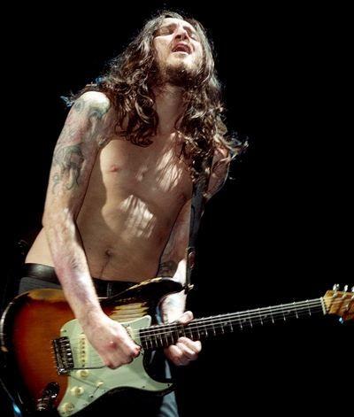 ジョン・フルシアンテ。元レッチリのギタリスト。