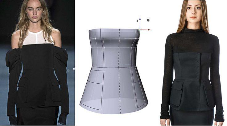 3D конструирование одежды
