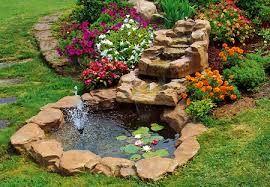 jardines con fuentes de agua rusticas - Buscar con Google