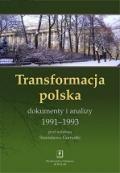 Transformacja polska dokumenty i analizy 1991-1993 Stanisław Gomułka Published by Wydawnictwo Naukowe Scholar