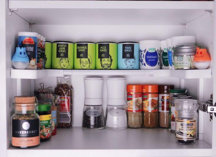 Die besten 25+ Küchenschrank regal Ideen auf Pinterest Diy - ordnung im küchenschrank