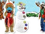 Sneeuwman, liedje uit hoelahoep, met video