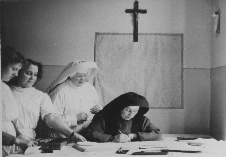 Szpital Powiatowy w Sławnie, siostry zakonne, 1958 r.