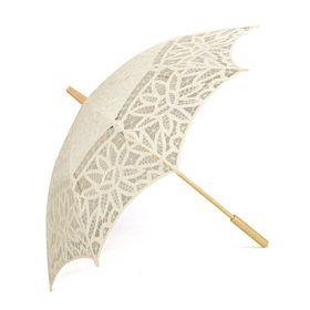 TOPTIE Classic Lace Umbrella, Wedding Battenburg Parasol #wedding