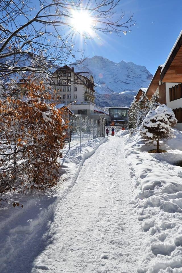 Wengen. Switzerland
