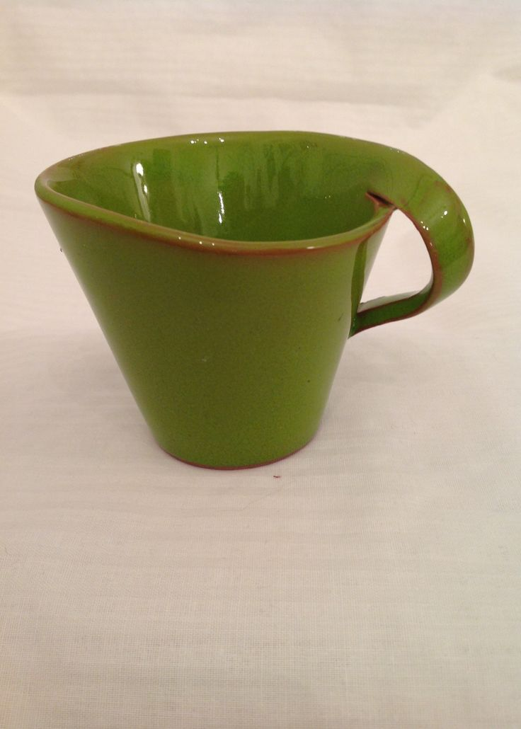 A green cup