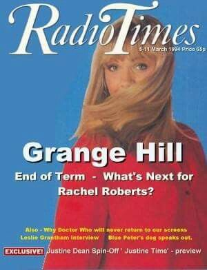 rachel roberts  grange hill