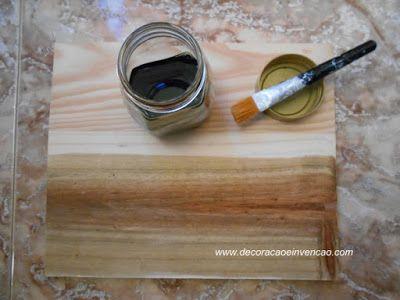 como envelhecer madeira sem betume