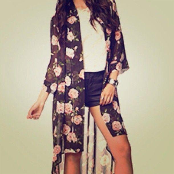Best 25  Floral cardigan ideas on Pinterest   Floral cardigan ...