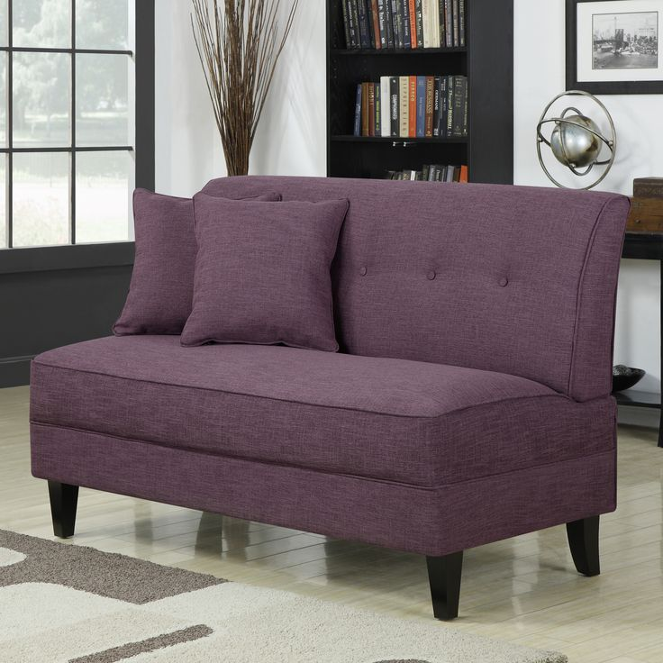 handy living bayonet loveseat in cherry